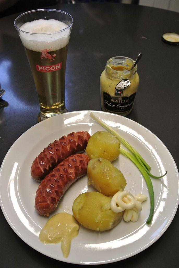Döbelner Bockwurst mit falschem Senf