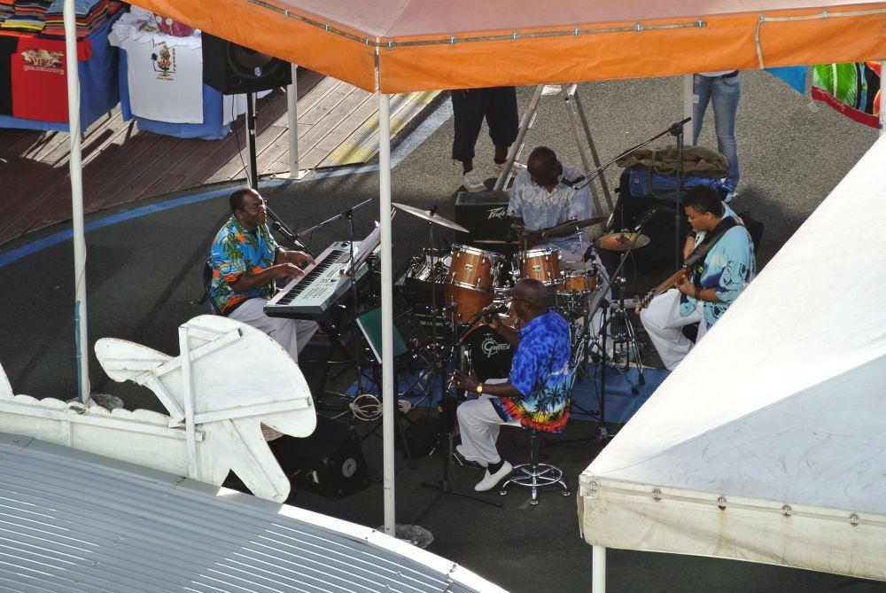 Guadeloupe die Begrüßungsband
