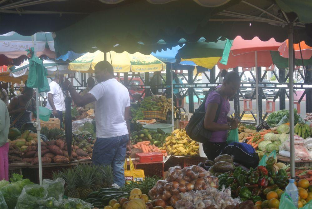 Guadeloupe auf dem Markt
