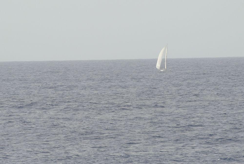 Segler auf dem Atlantik