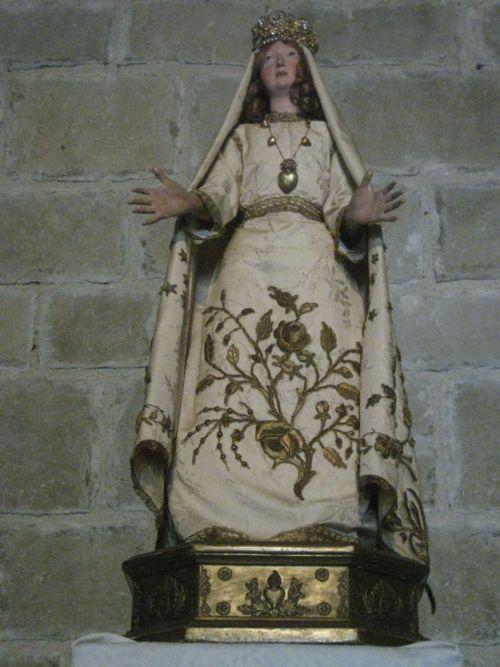Maria in einer Kirche in Südfrankreich