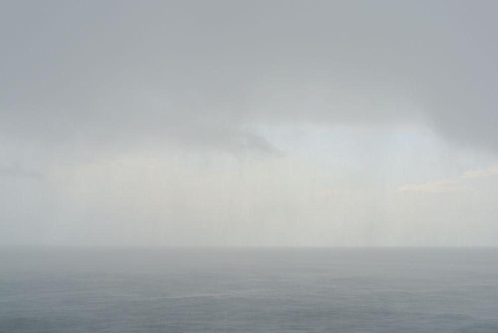 Tropenregen auf dem Südtlantik