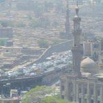 Großstadtverkehr in Kairo