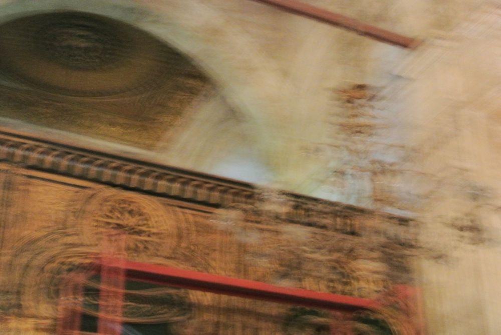Verschwommenes Bild einer Mosche