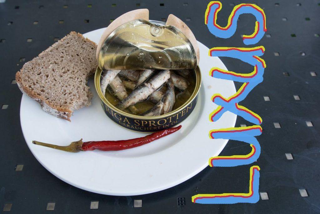 Sprotten aus Riga zum Frühstück