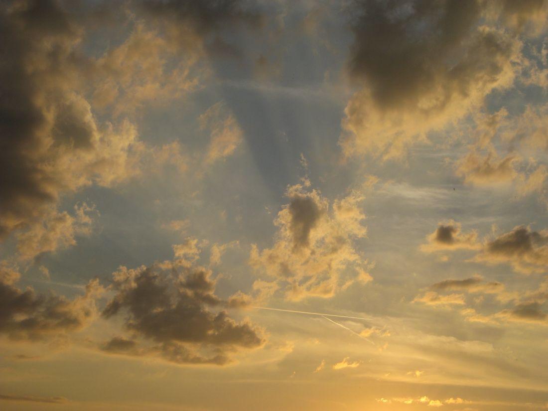 Himmel wie auf Renaissancemalerei
