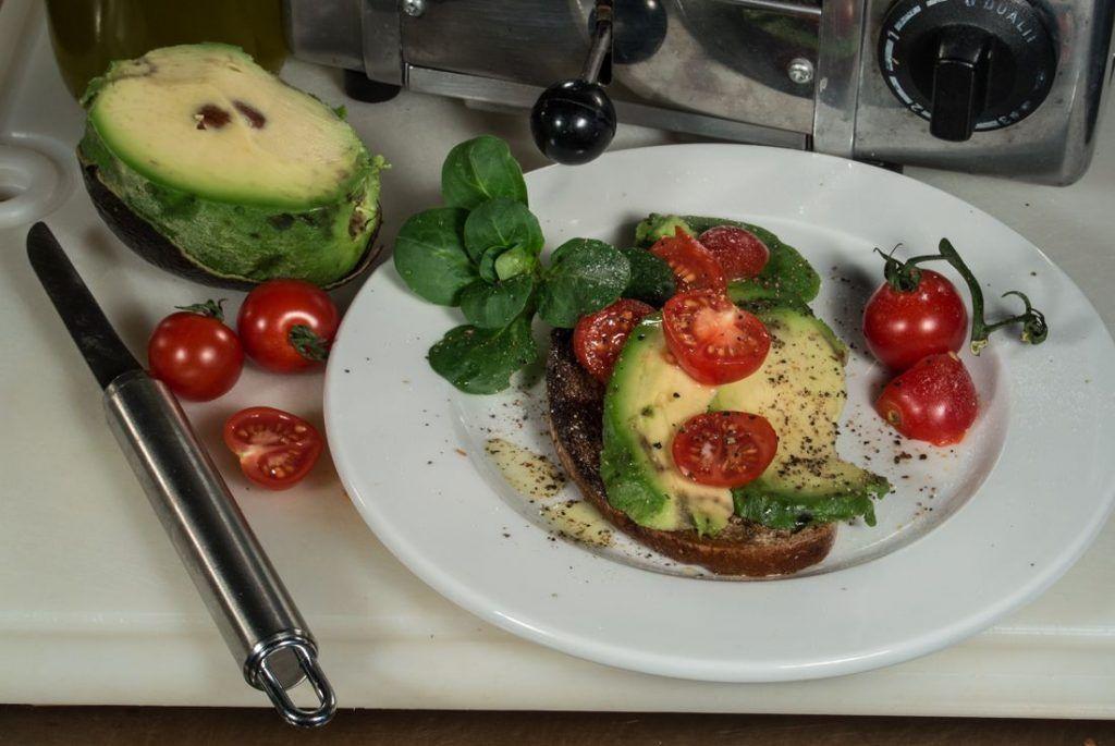 Ein veganes Frühstück ohne Wurst
