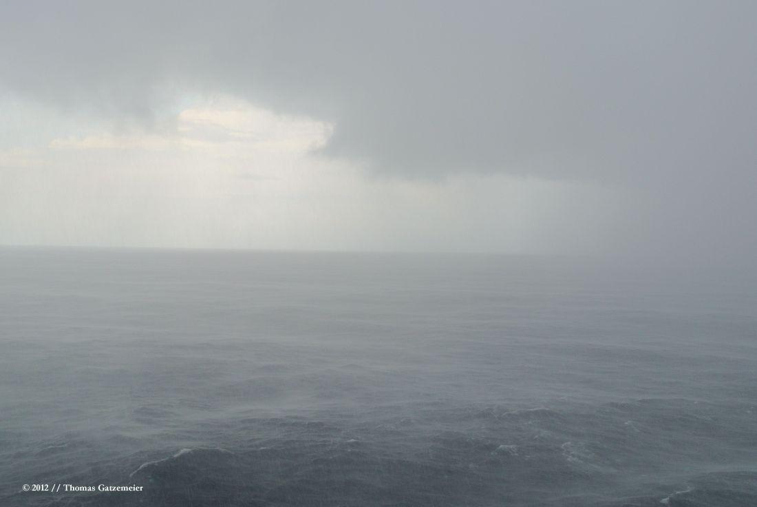 Monsunregen auf dem Atlantik