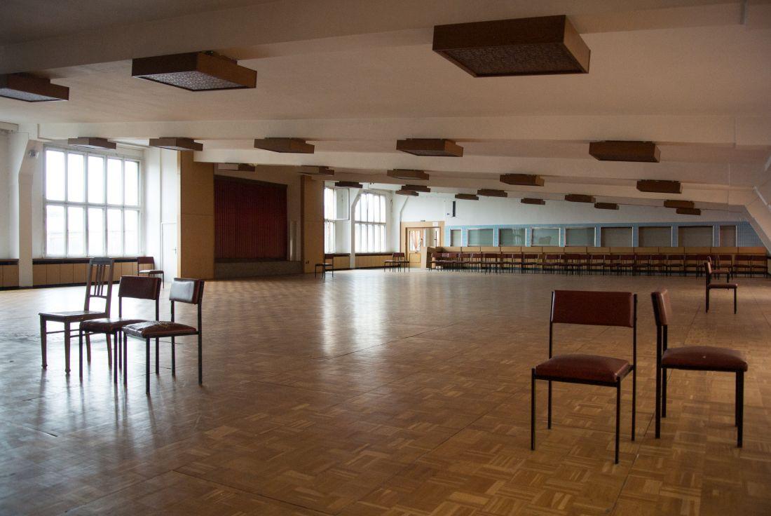 Pittlerwerke DREMA Veranstaltungssaal unter dem Dach