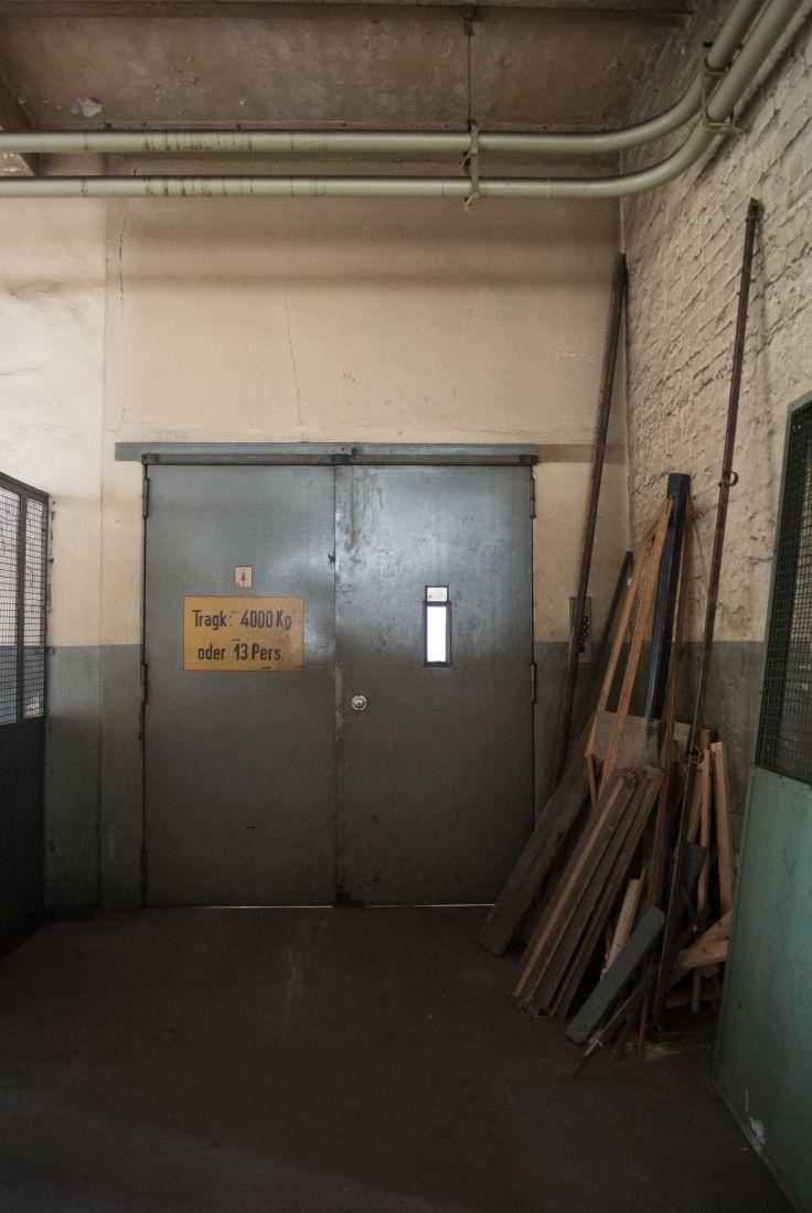 Ein stillgelegter Aufzug