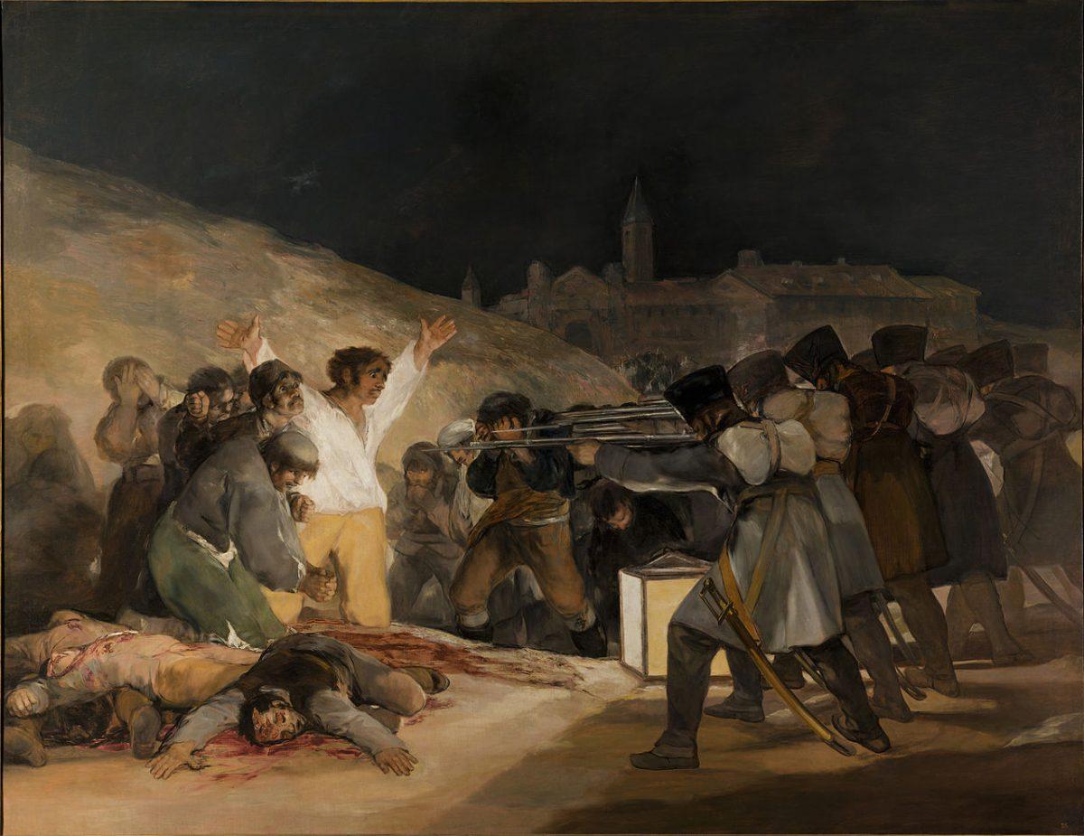 Francisco de Goya Die Erschießung der Aufständischen Prado Madrid