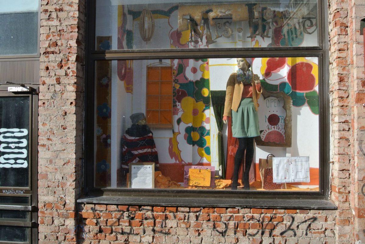 Hippies auf der Karl Liebknecht Straße