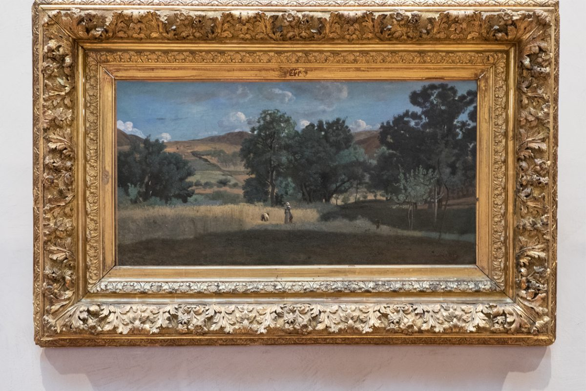 Camille Corot Landschaft Lyon