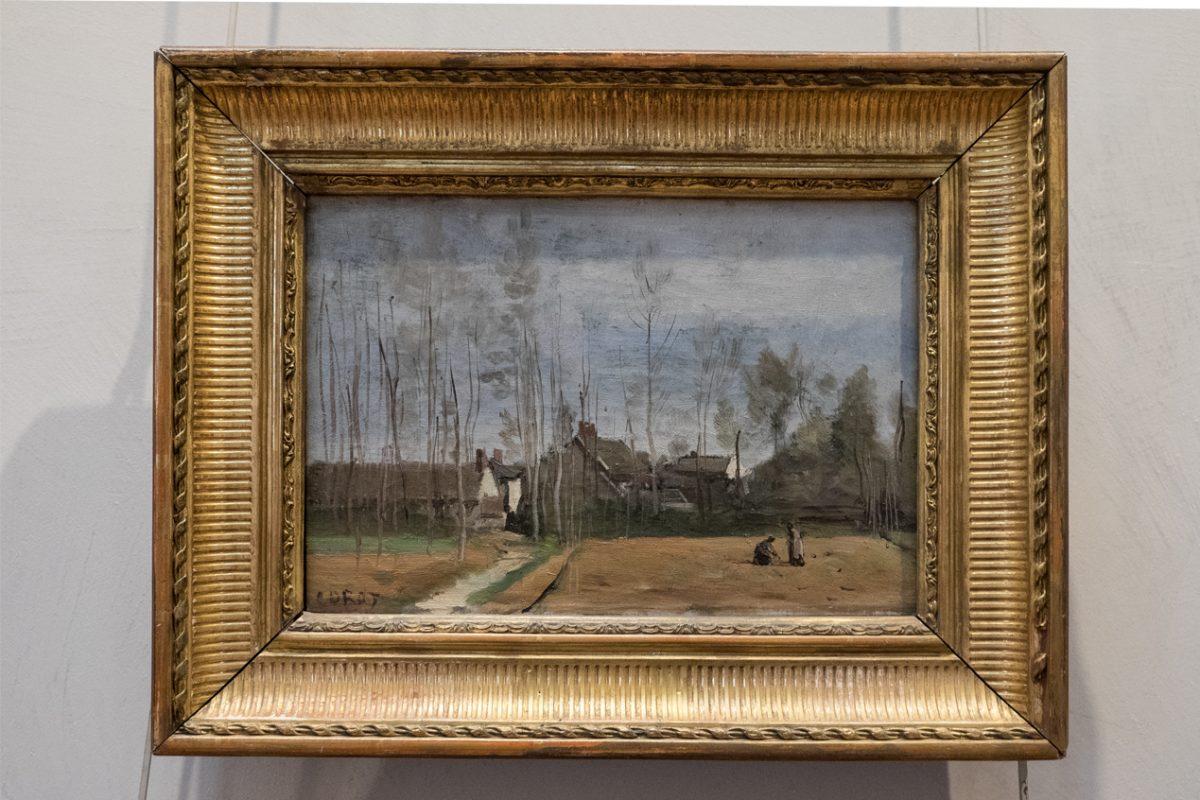 Camille Corot Paysage Lyon