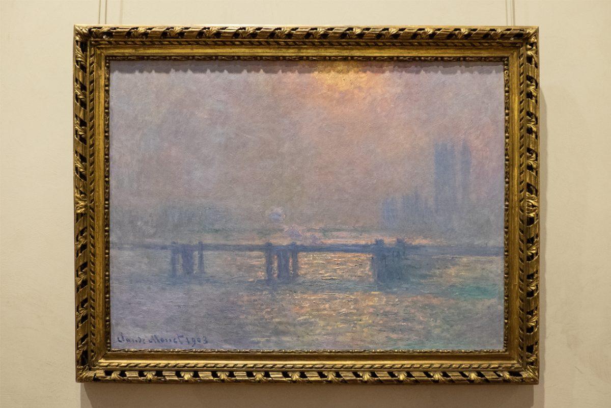 Claude Monet Eine Brücke Museum Lyon