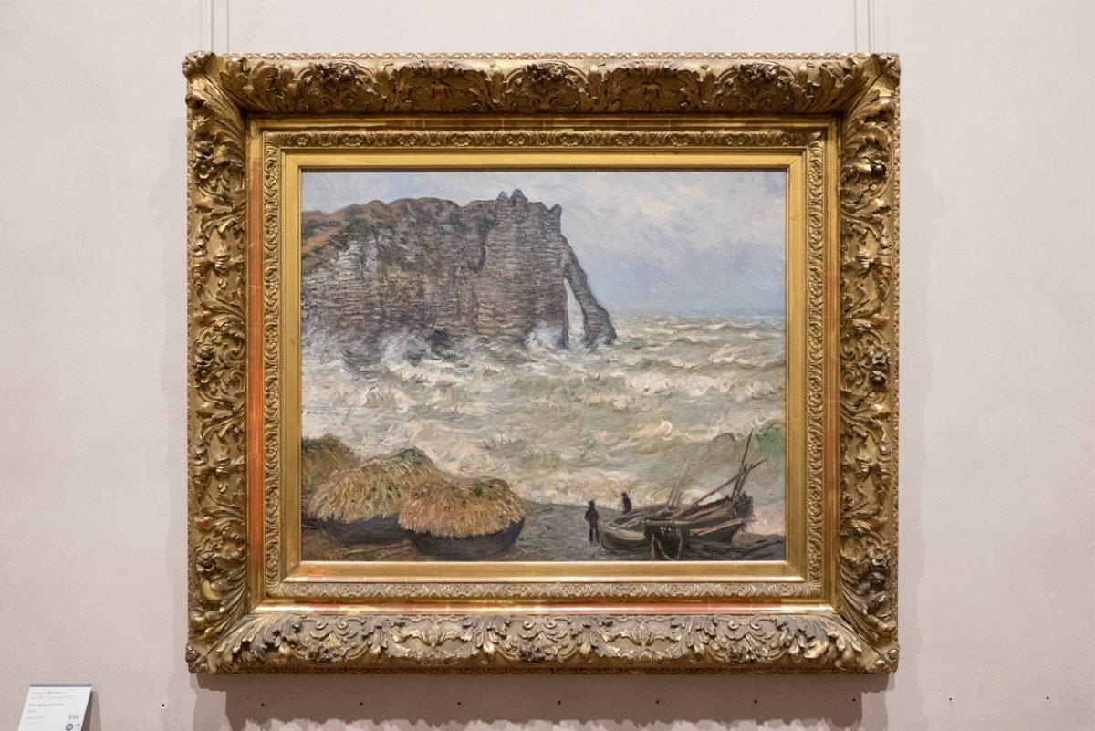 Claude Monet Meerbild Museum Lyon