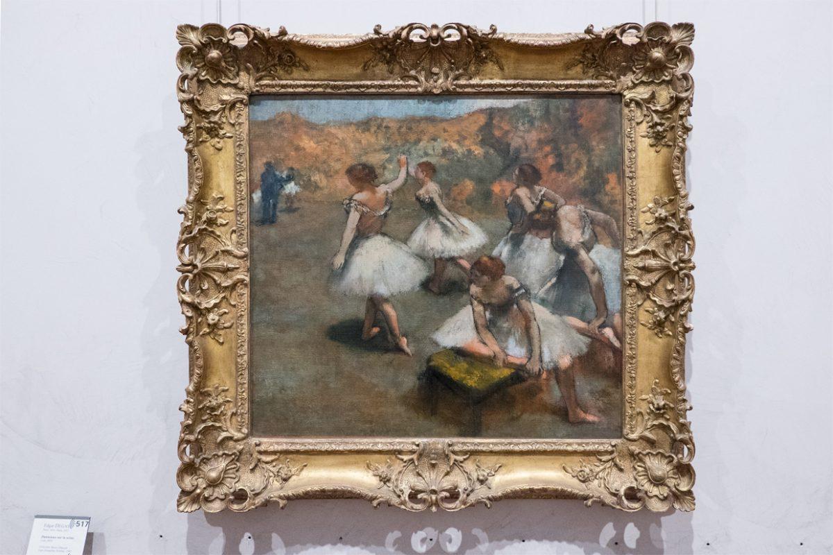 Edgar Degas Danseuses sur la scene