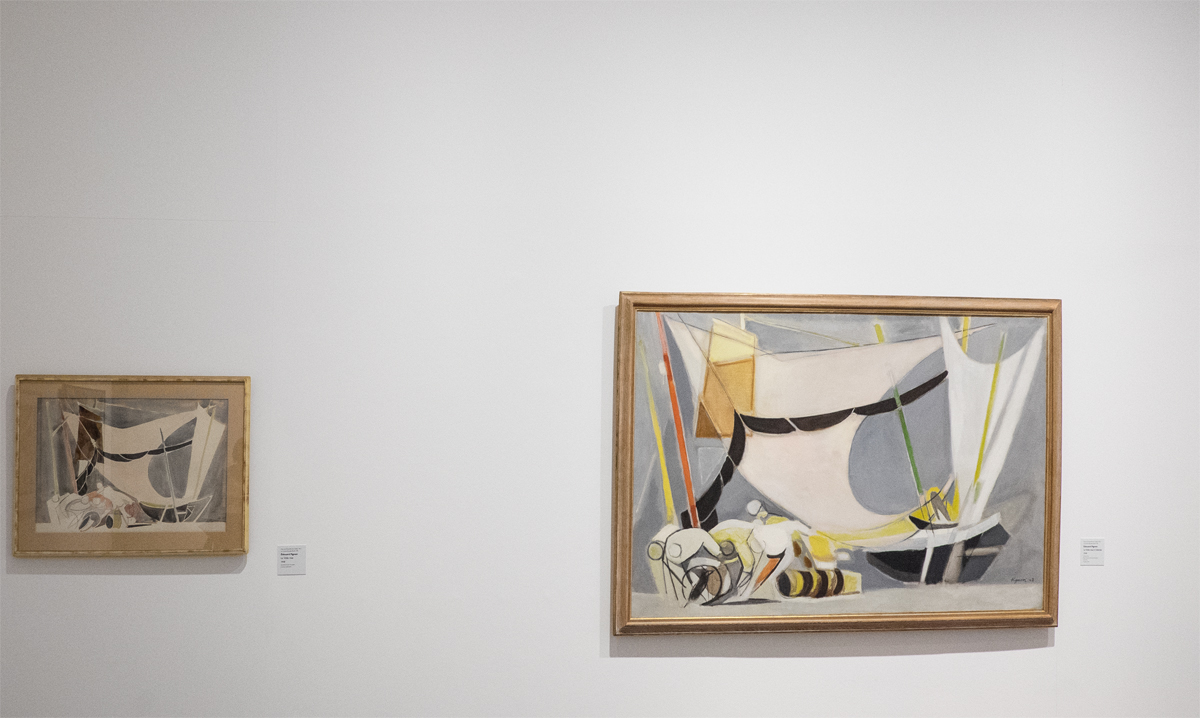 Edouard Pignon Einzelausstellung in Lyon