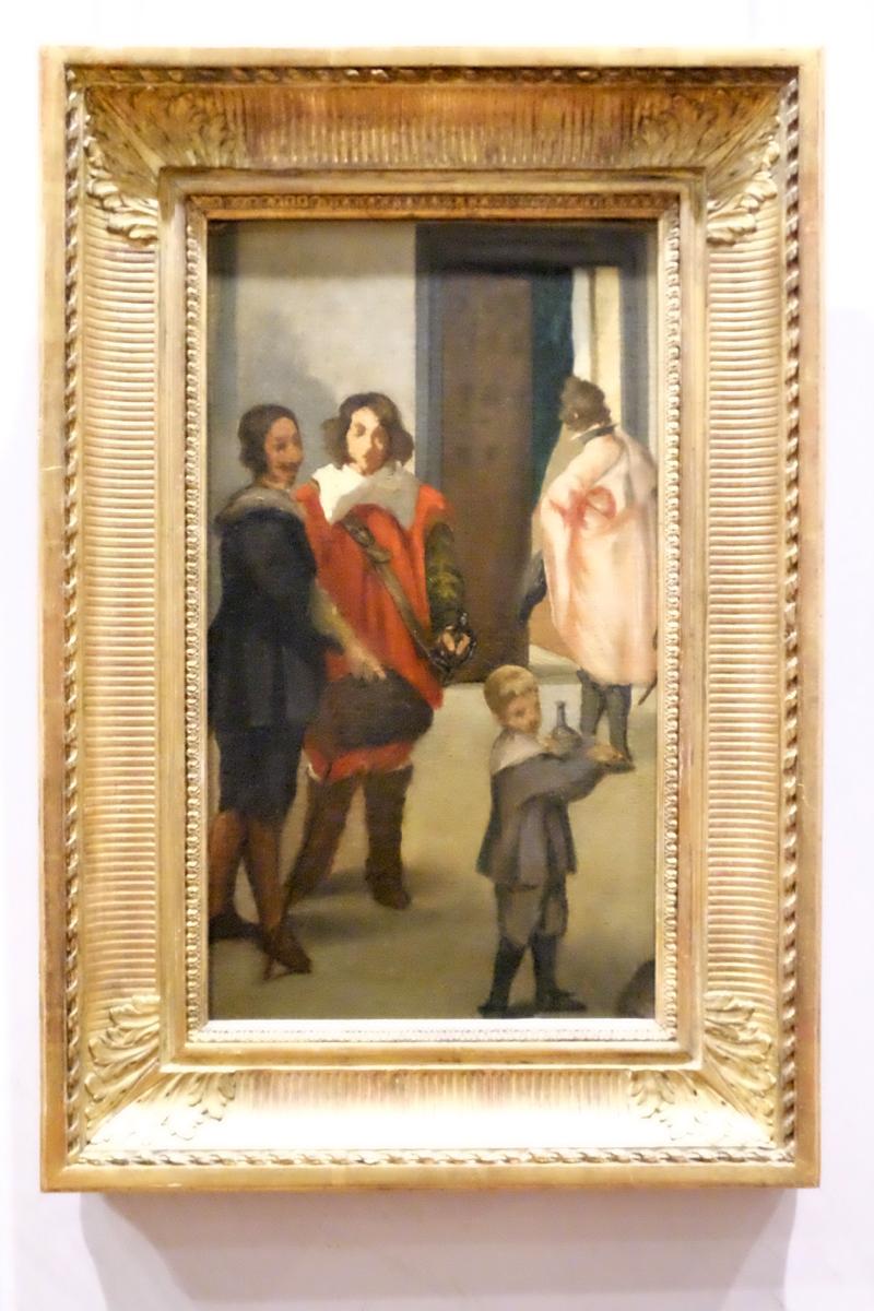 Eduard Manet frühes Bild Cavaliers espagnols