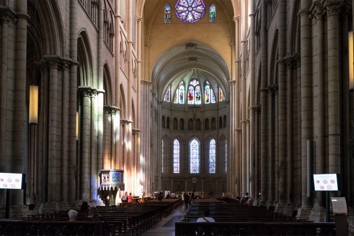 Ein Platz der Ruhe Kirche in Lyon