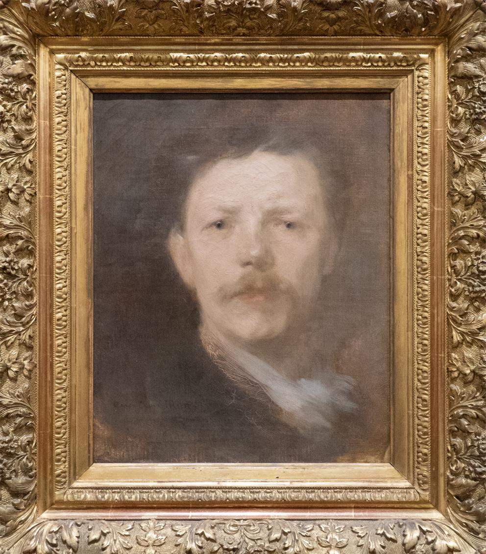 Eugene Carriere Selbstportrait Museum Lyon