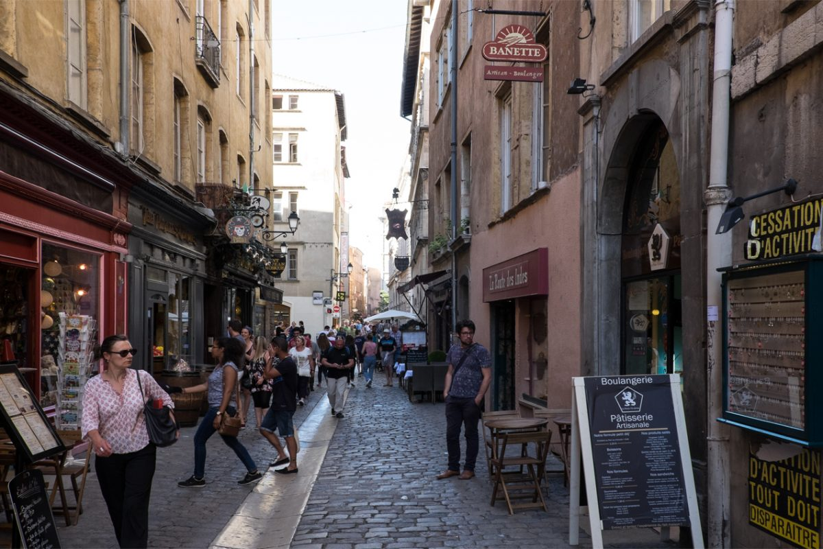 Gasse in Lyon 2