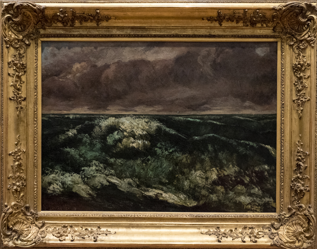 Gustave Courbet Die Welle 1870