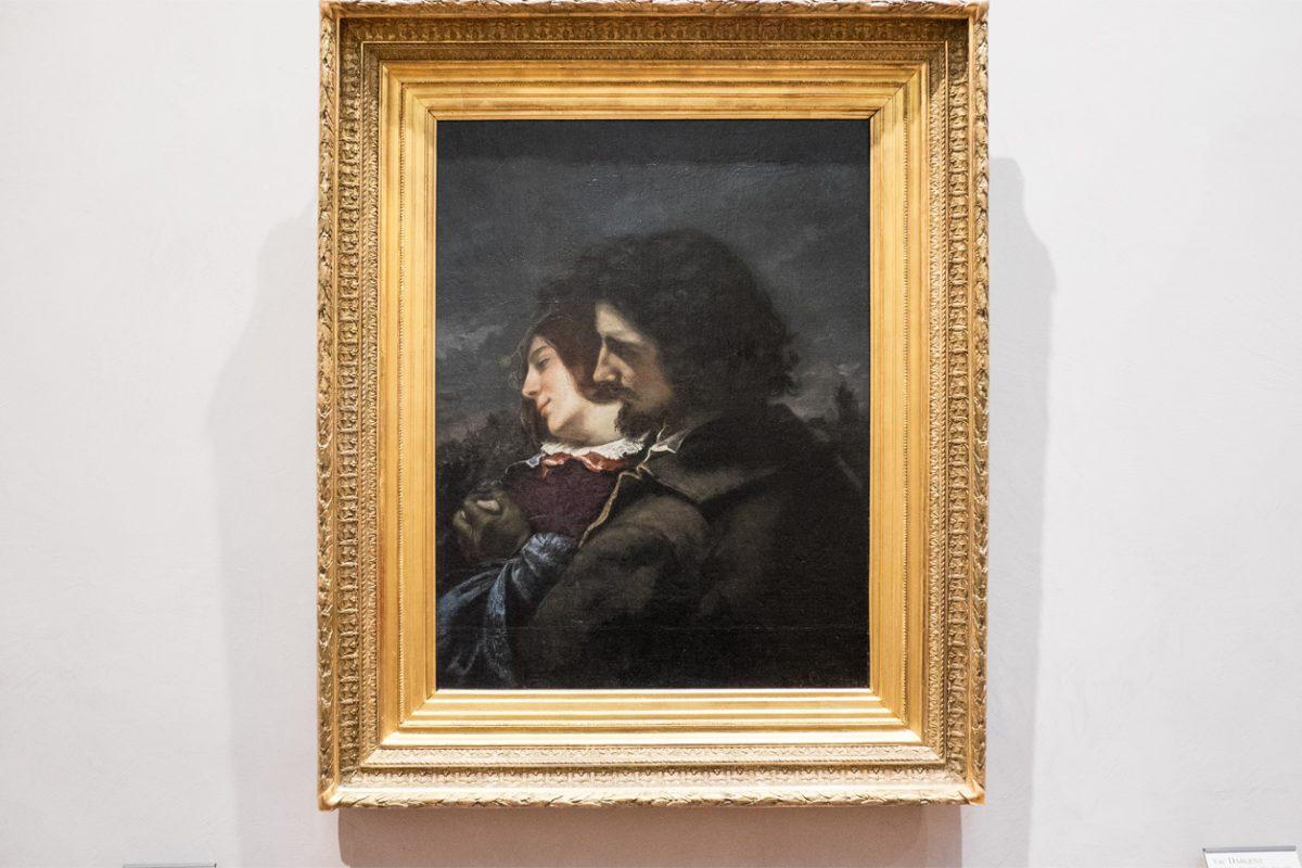 Gustave Courbet Les amants heureux Lyon