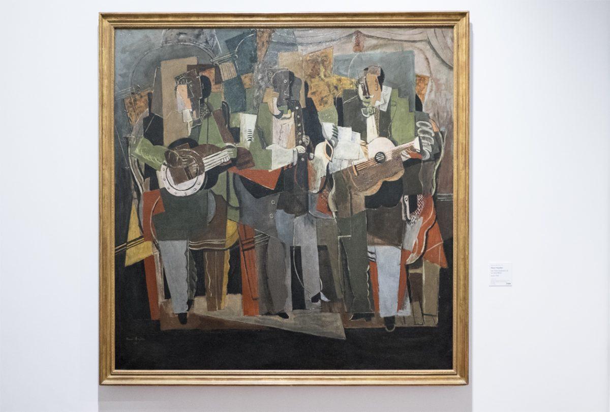 Henri Hayden Die drei Musiker Museum Lyon