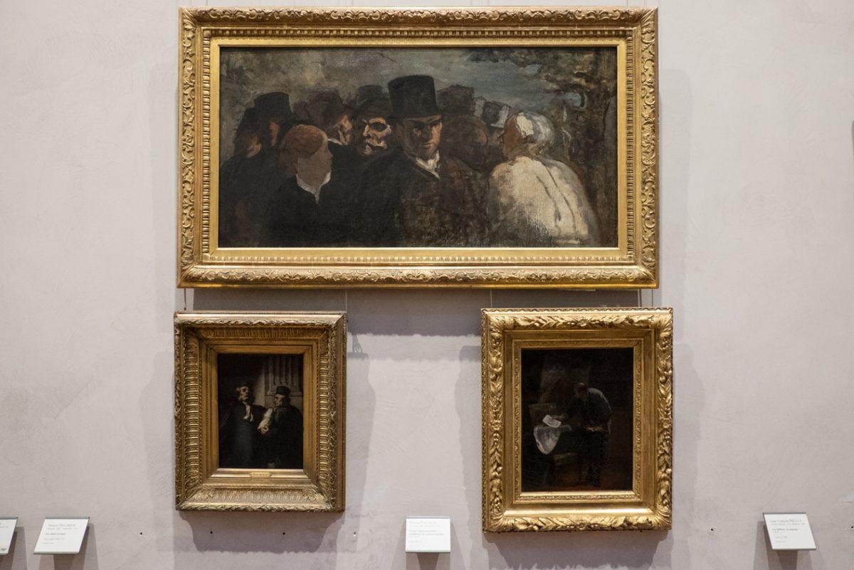 Honoré Daumier Passants 1858, Musée des Beaux-Arts de Lyon