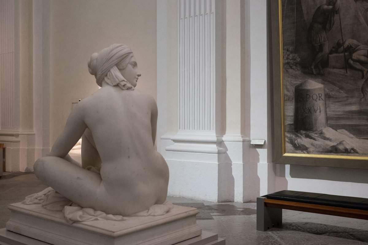 James Pradier Odalisque in Lyon