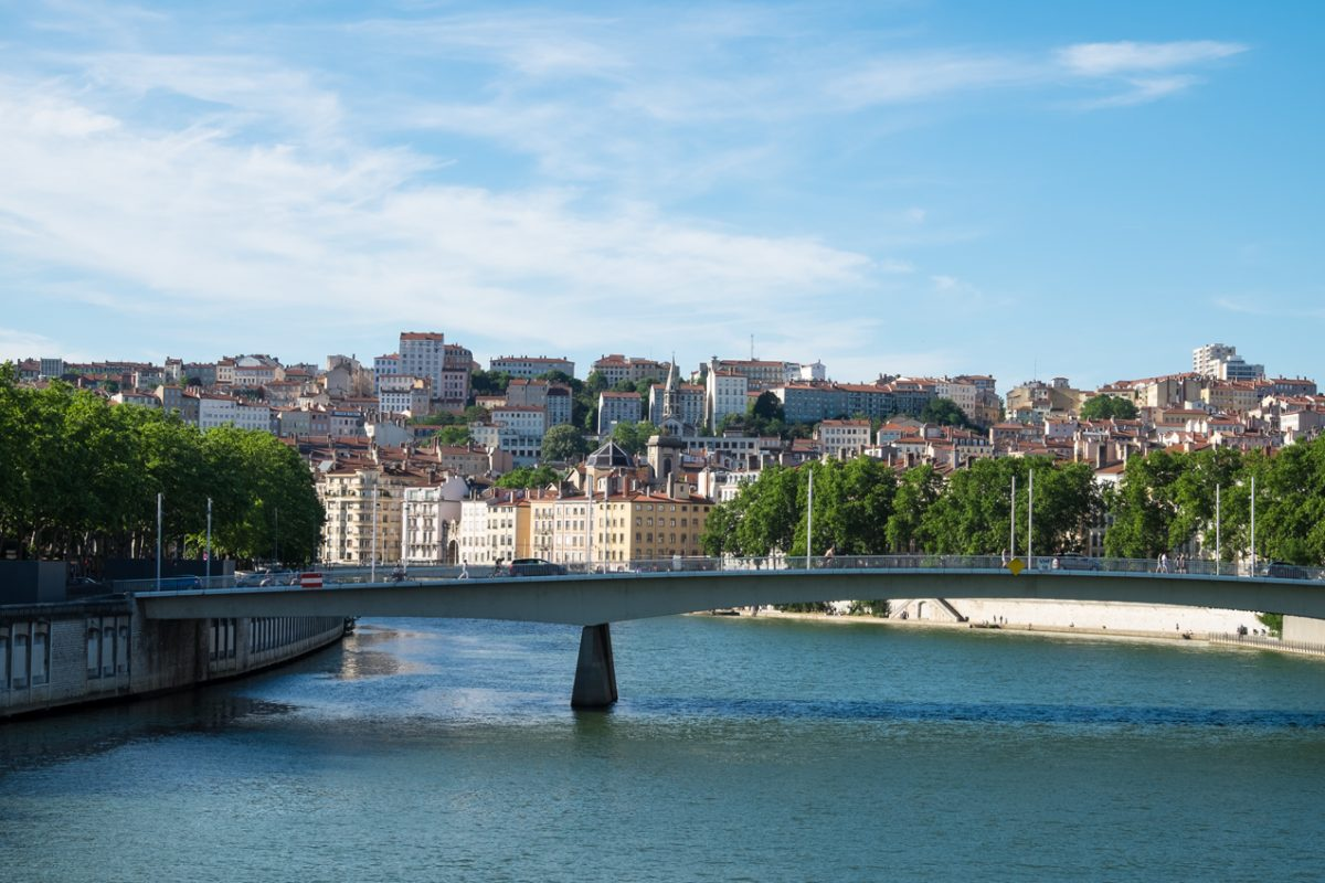 Lyon zwischen Rhone und Saône
