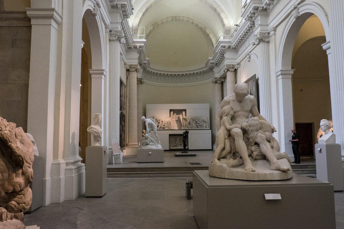 Musée des Beaux-Arts Lyon Skulpturensaal