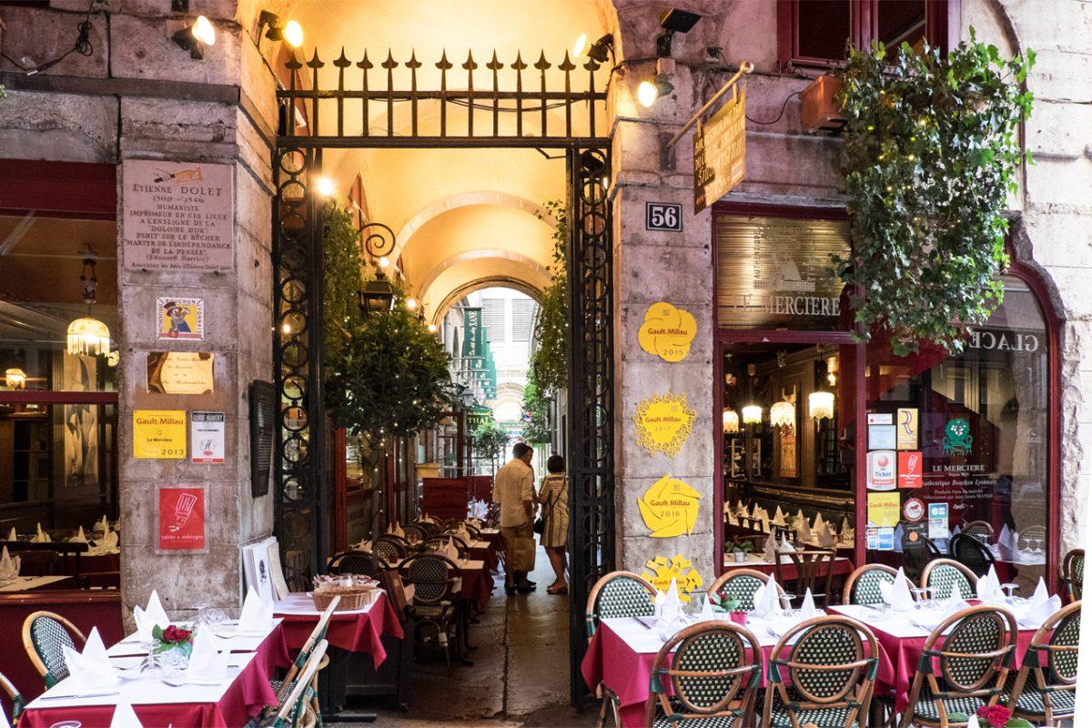 Oppulente Gastronomie in Lyon