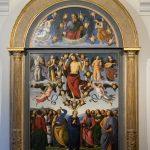 Himmelfahrt Perugino 1496-1498 im Musée des Beaux-Arts de Lyon
