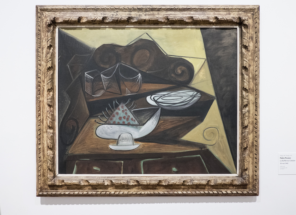 Picasso Le Buffet du Catalan Museum Lyon