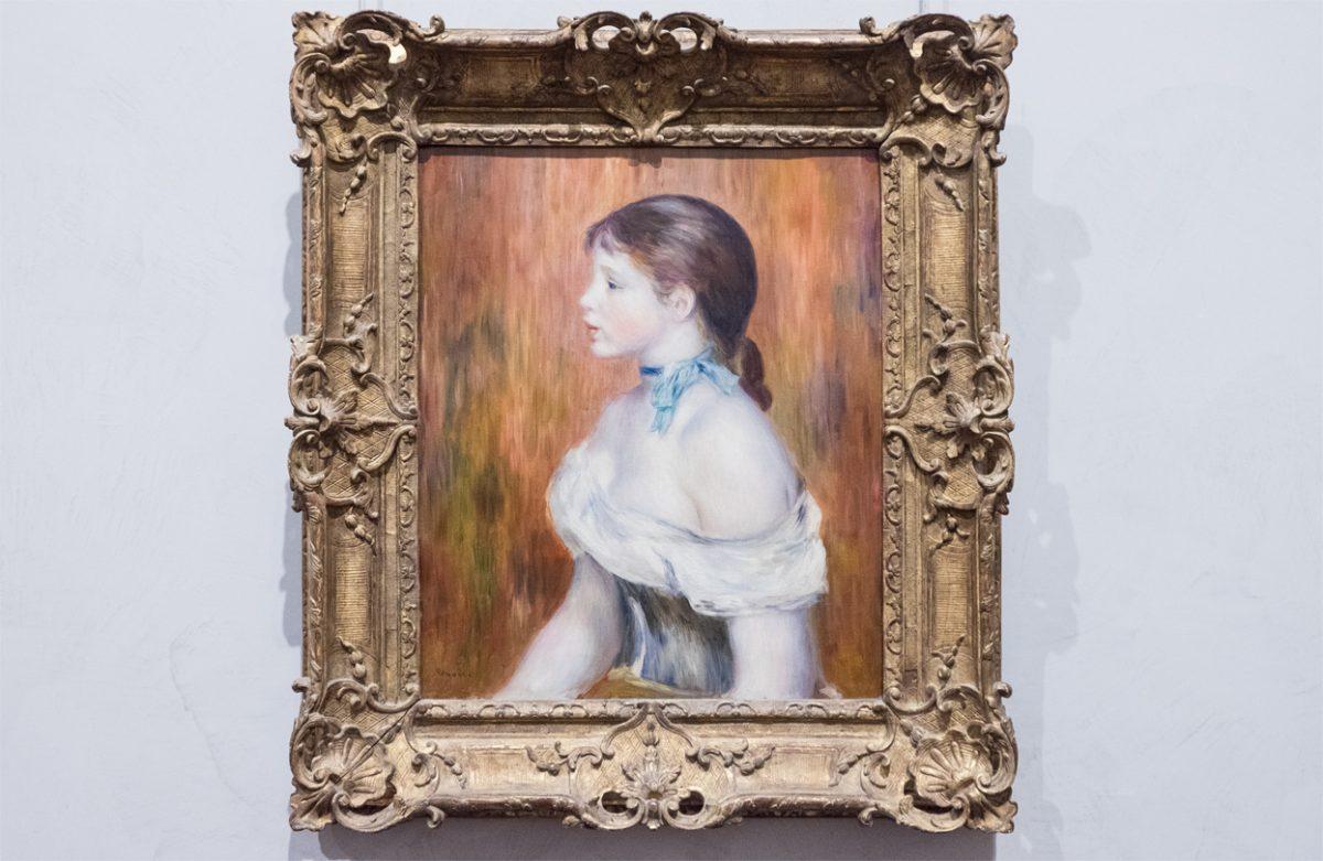 Renoir Jeune fille au ruban bleu