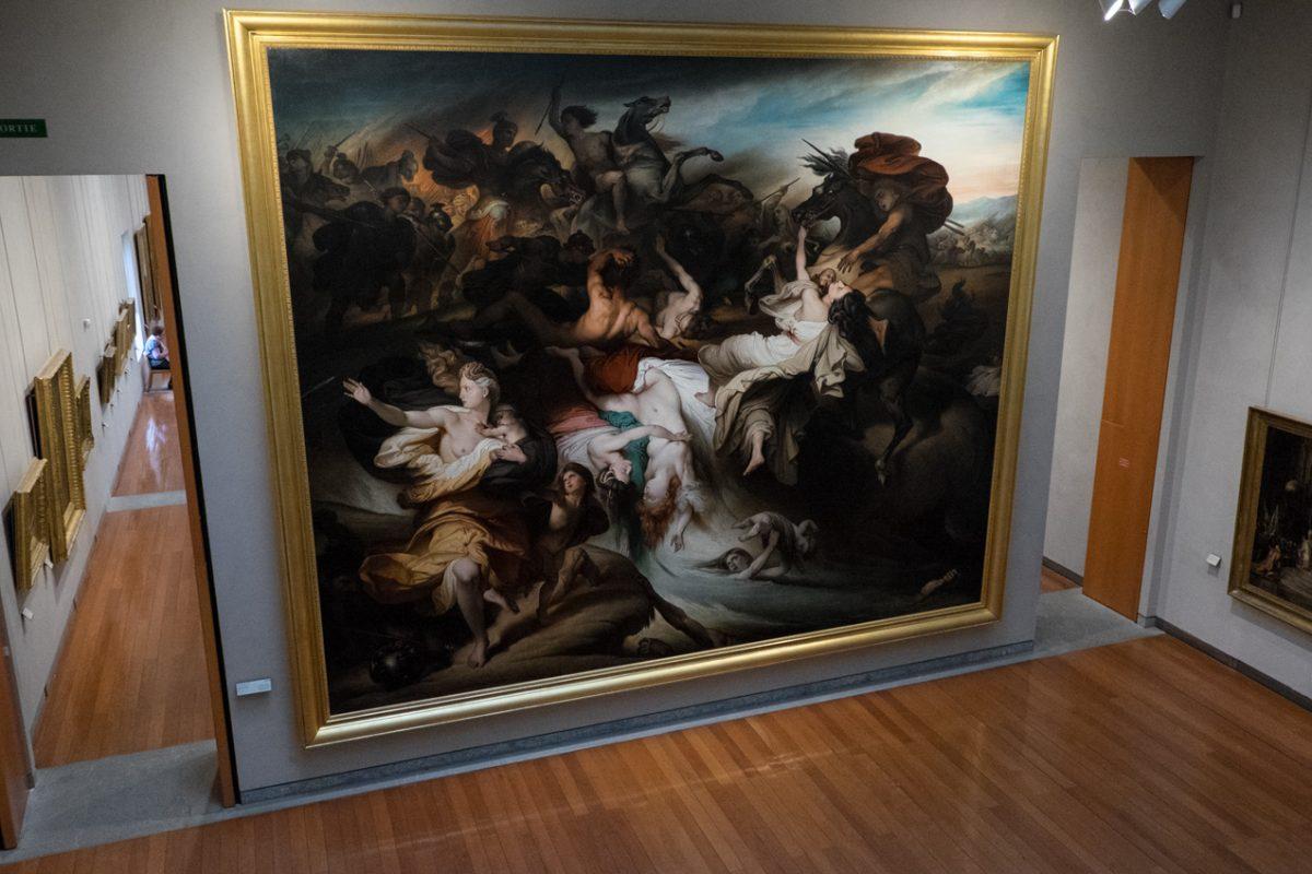 Salonmalerei im Museum Lyon