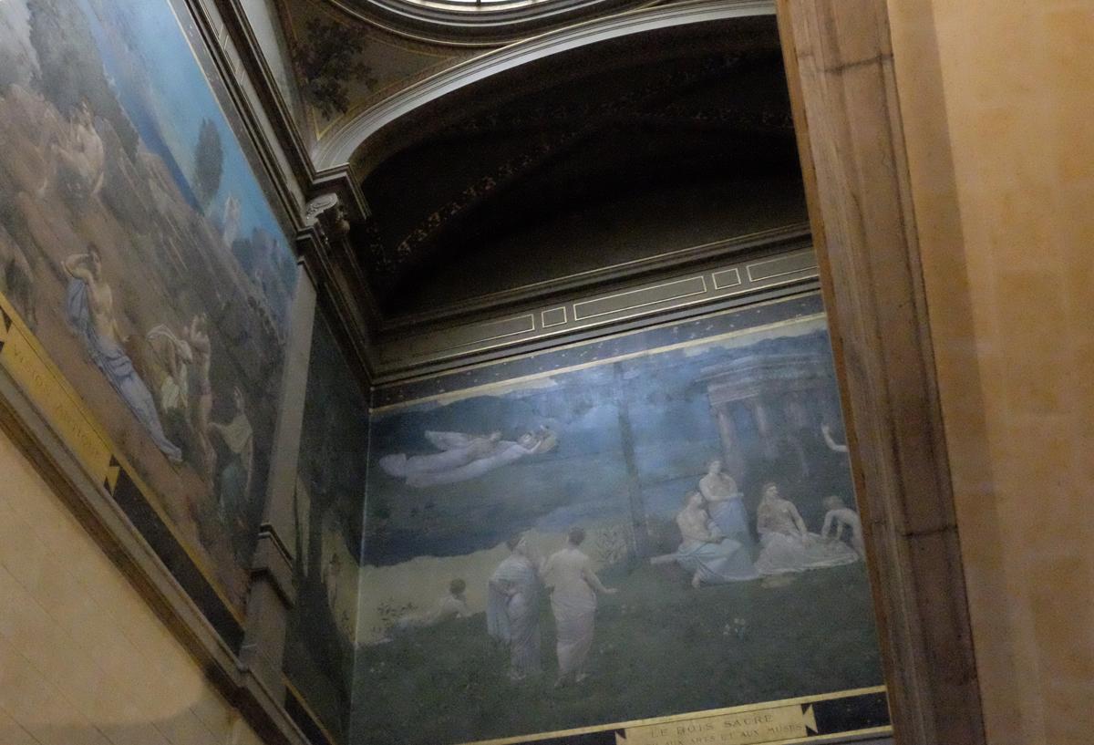 Treppenaufgang im Musée des Beaux-Arts de Lyon