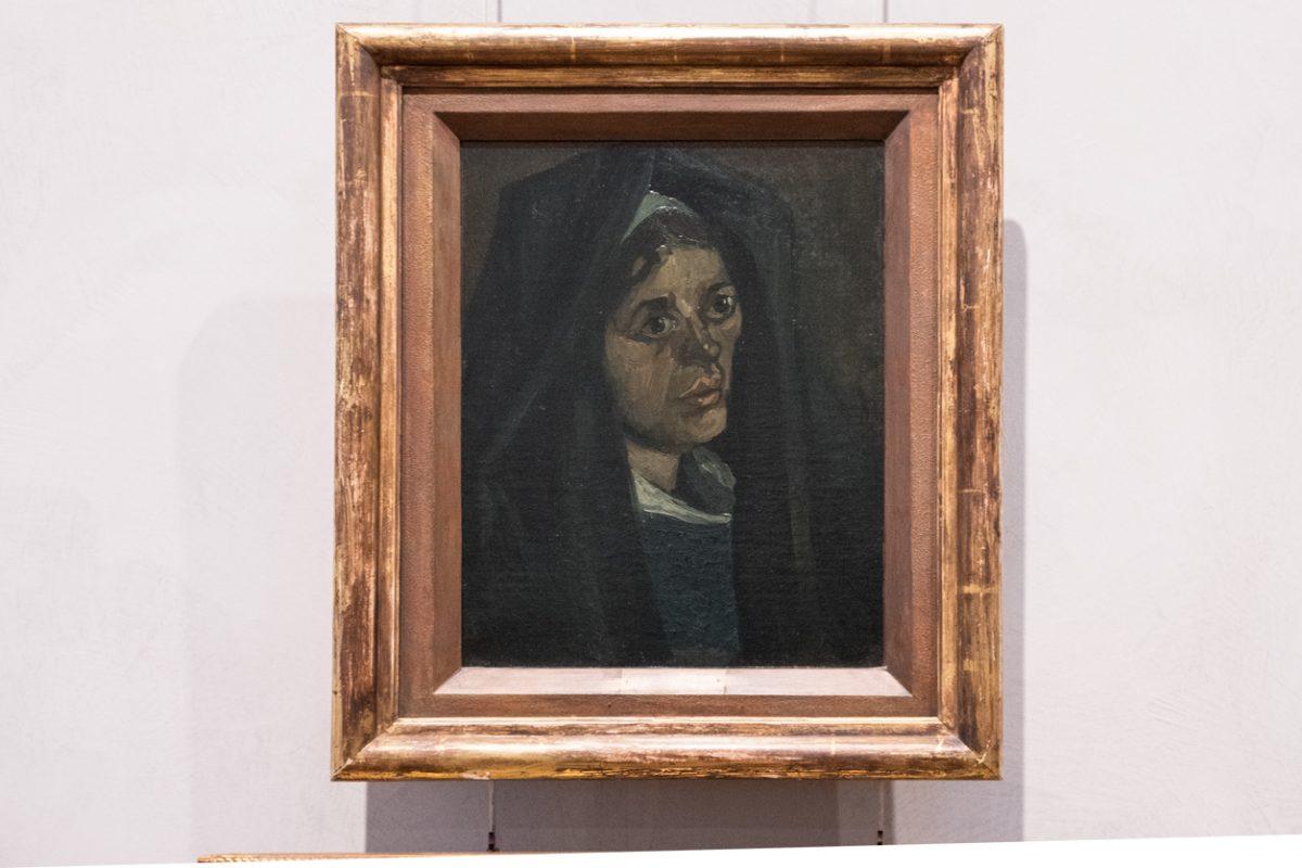 Van Gogh Paysanne au chale vert Lyon