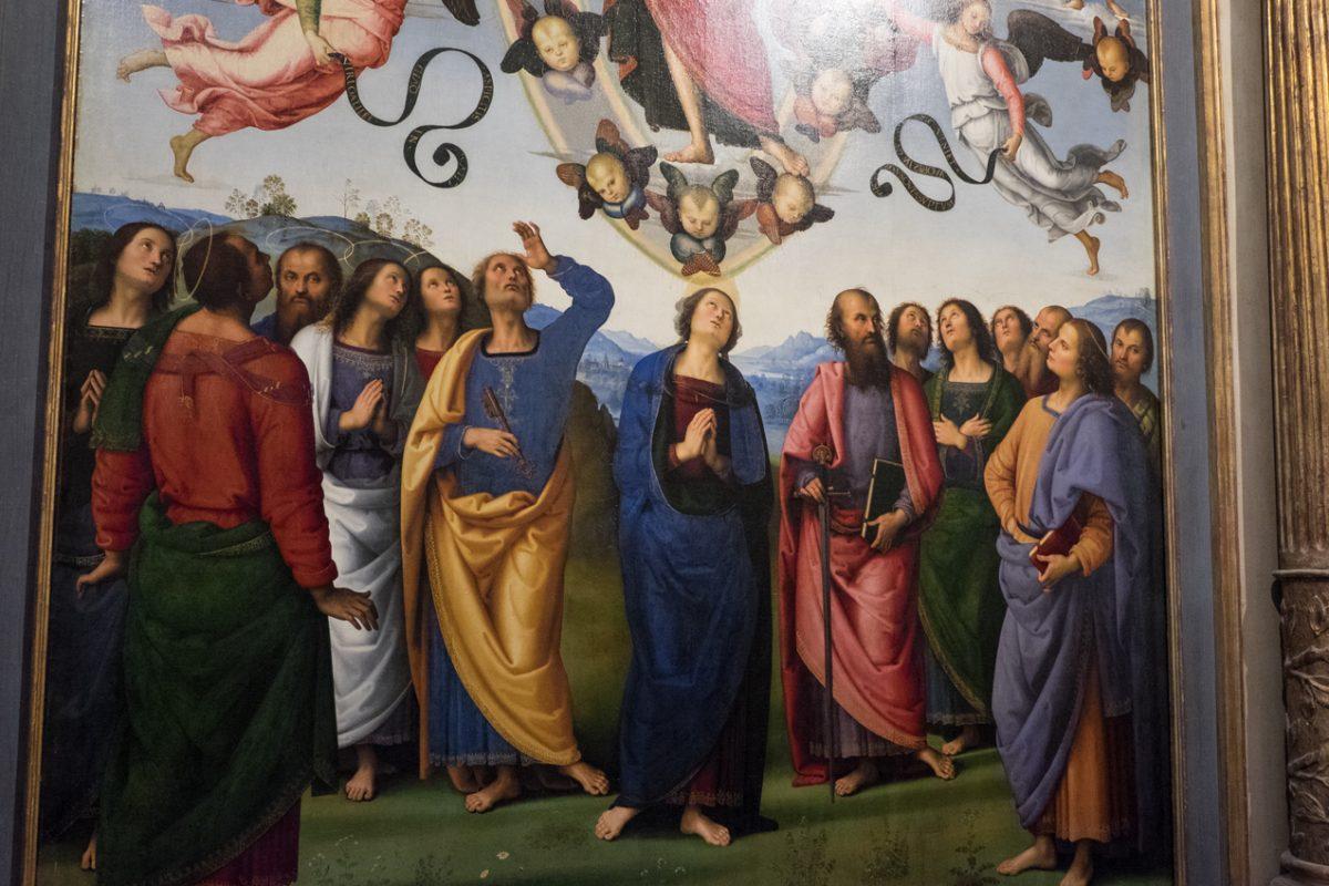 Woran erkenne ich einen Perugino