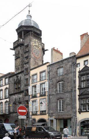 Glockenturm in Riom ist aus der Zeit der Renaissance