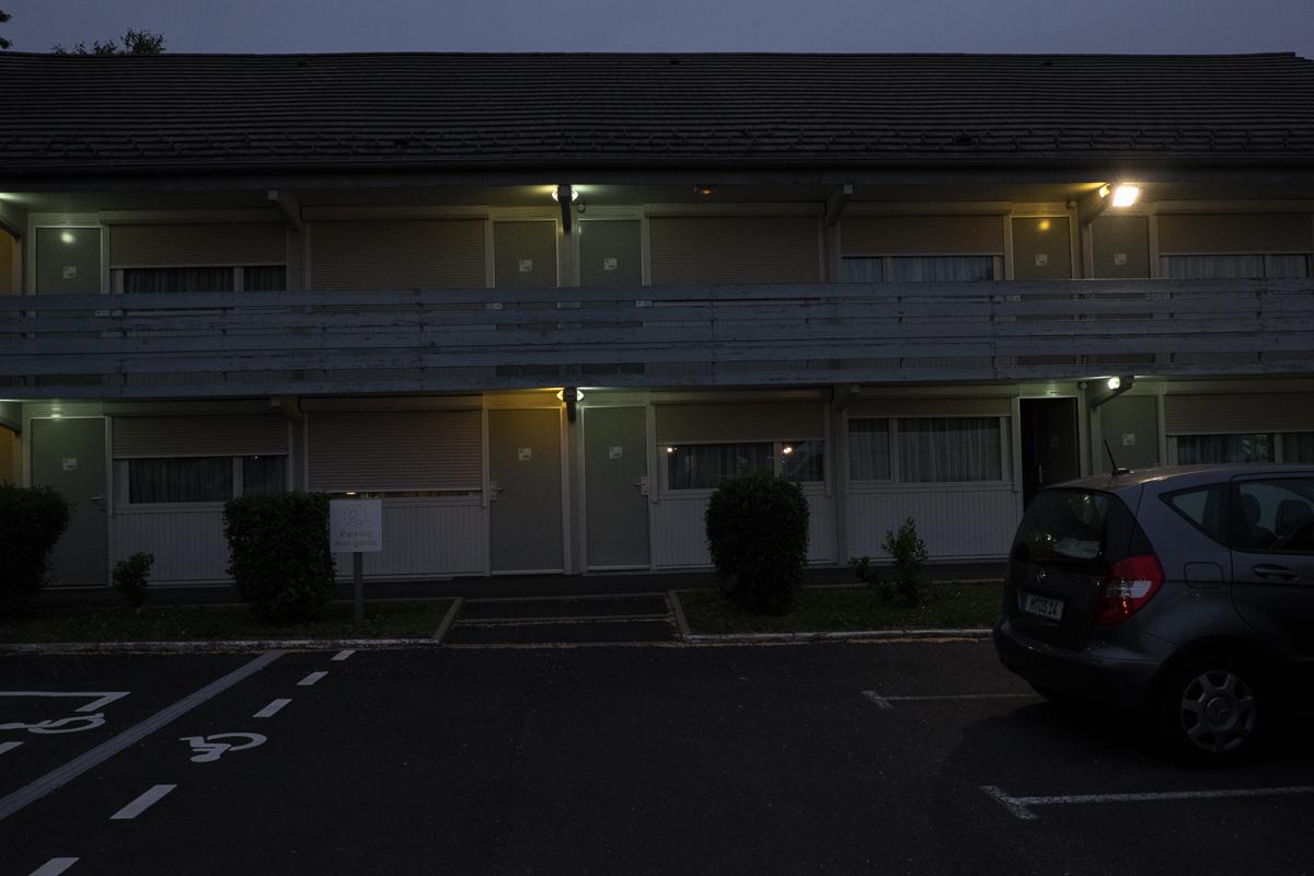 Motel Riom 1 im Industriegebiet ettwas außerhalb der Stadt