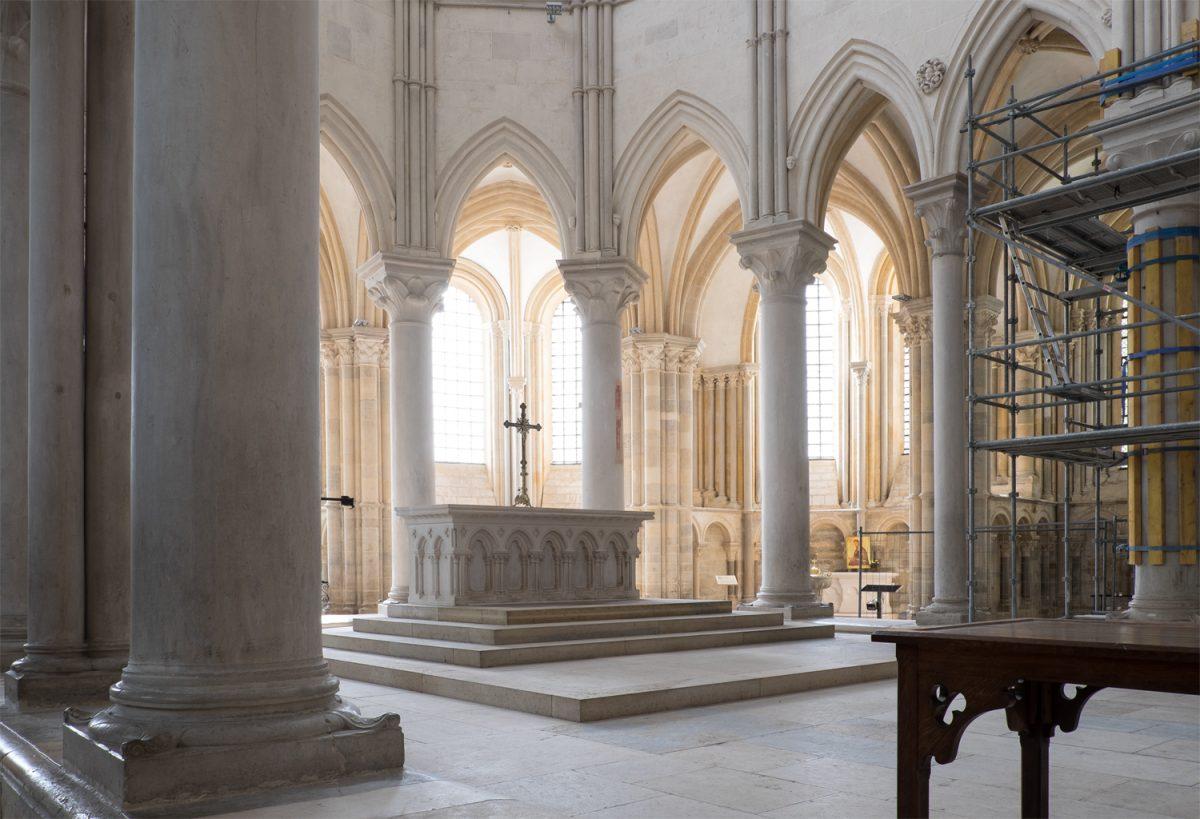 Madeleine Vézelay gotischer Chor
