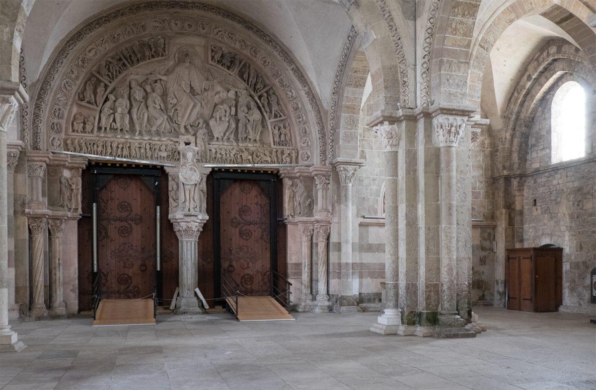 Ste-Marie-Madeleine Vézelay die Vorkirche