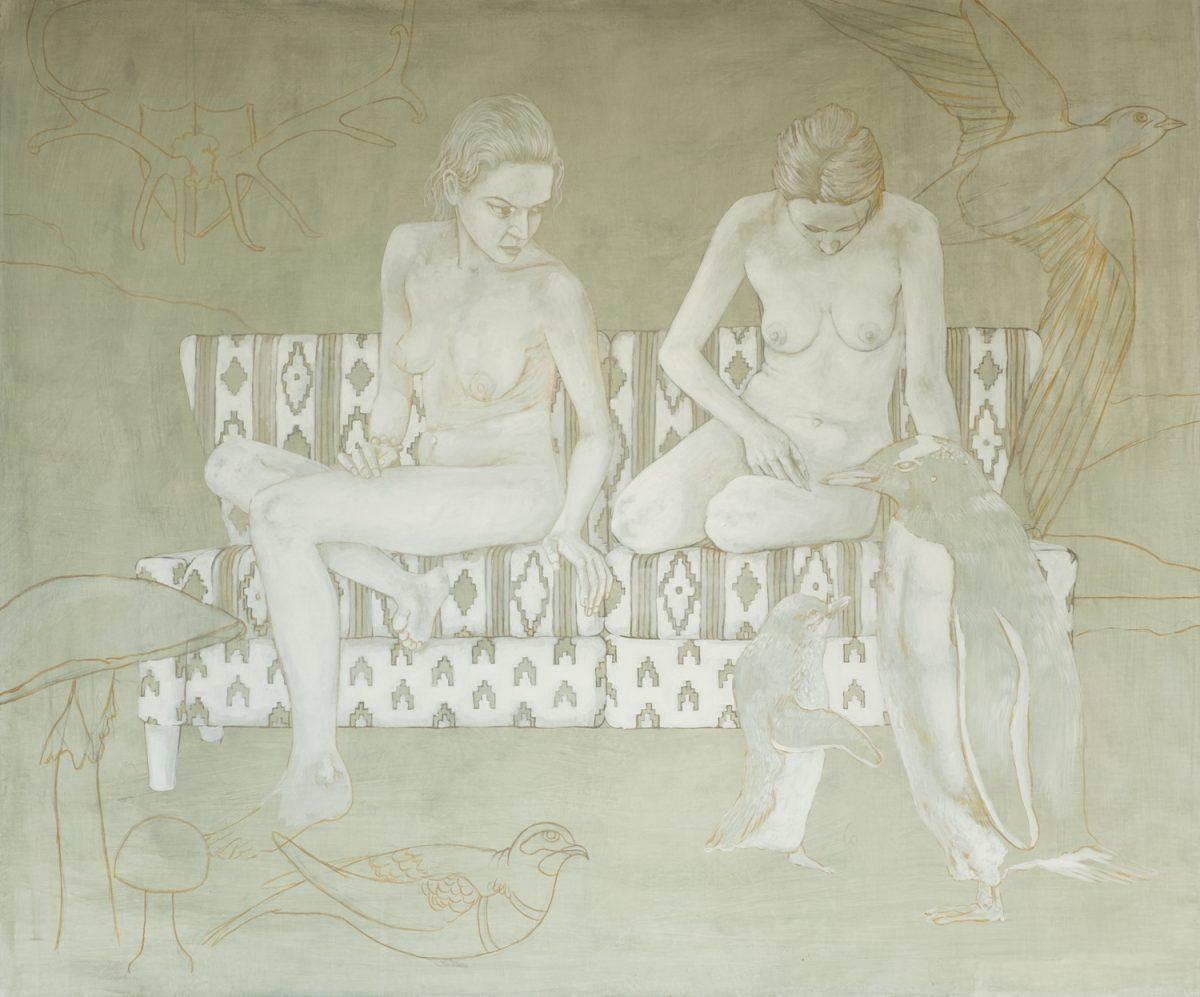 Wie male ich mit Ölfarbe Weißhöhung Figur