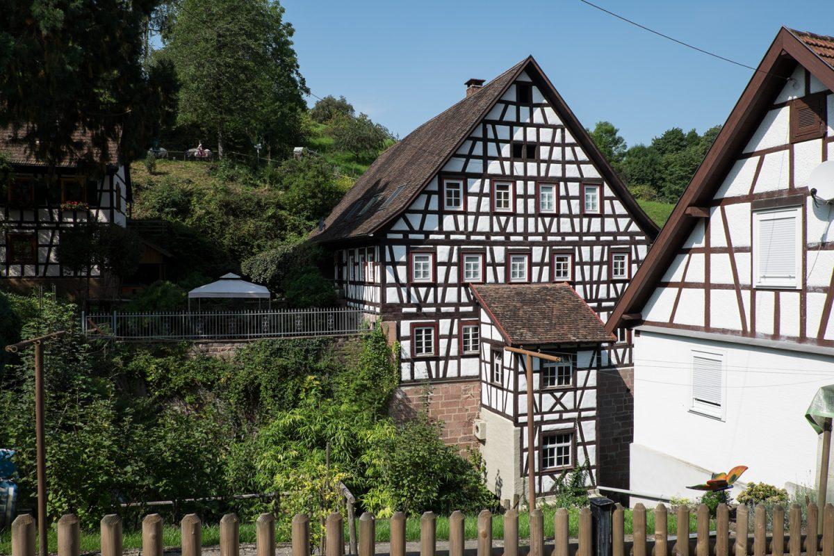 Fachwerkhaus am Laufbach Loffenau