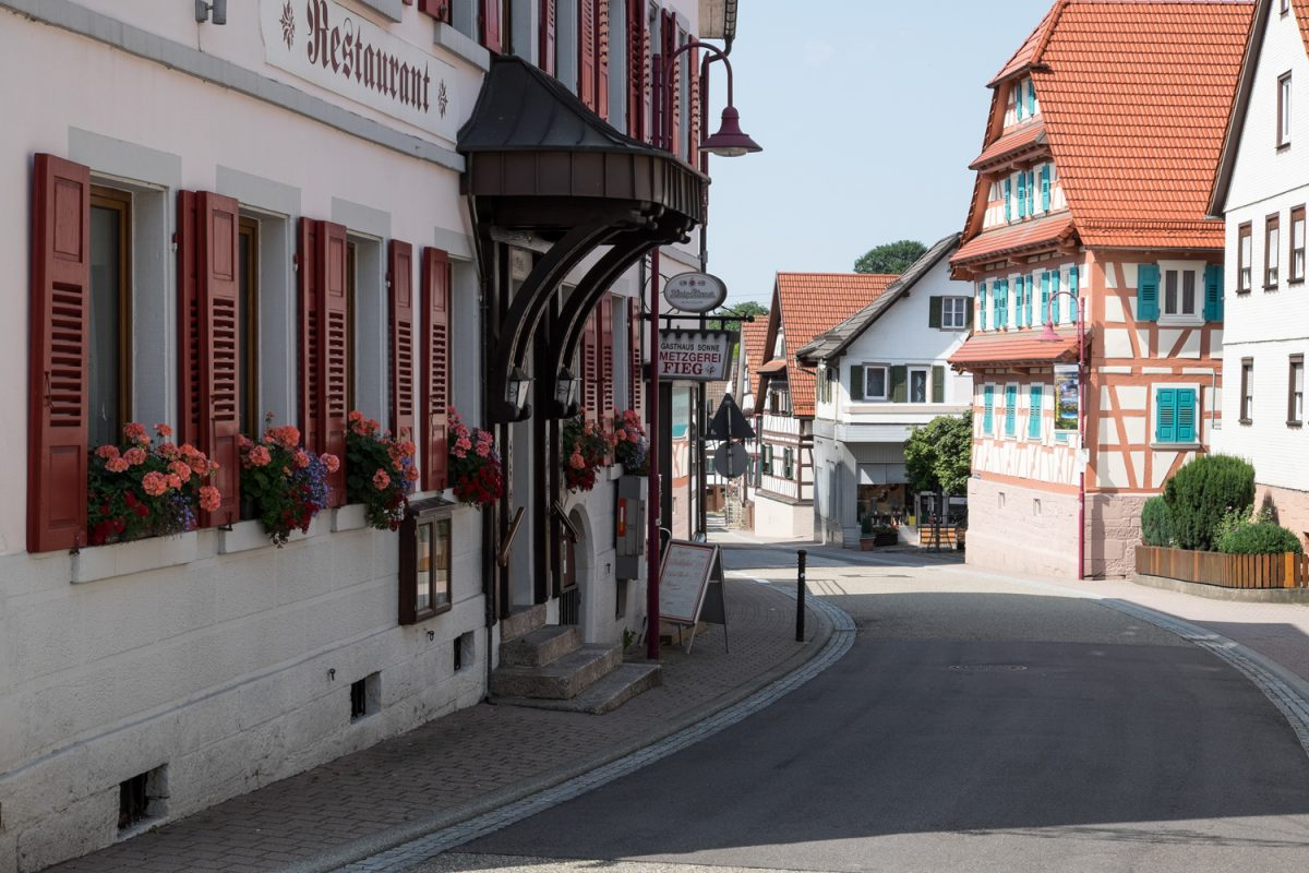Hauptsraße in Loffenau