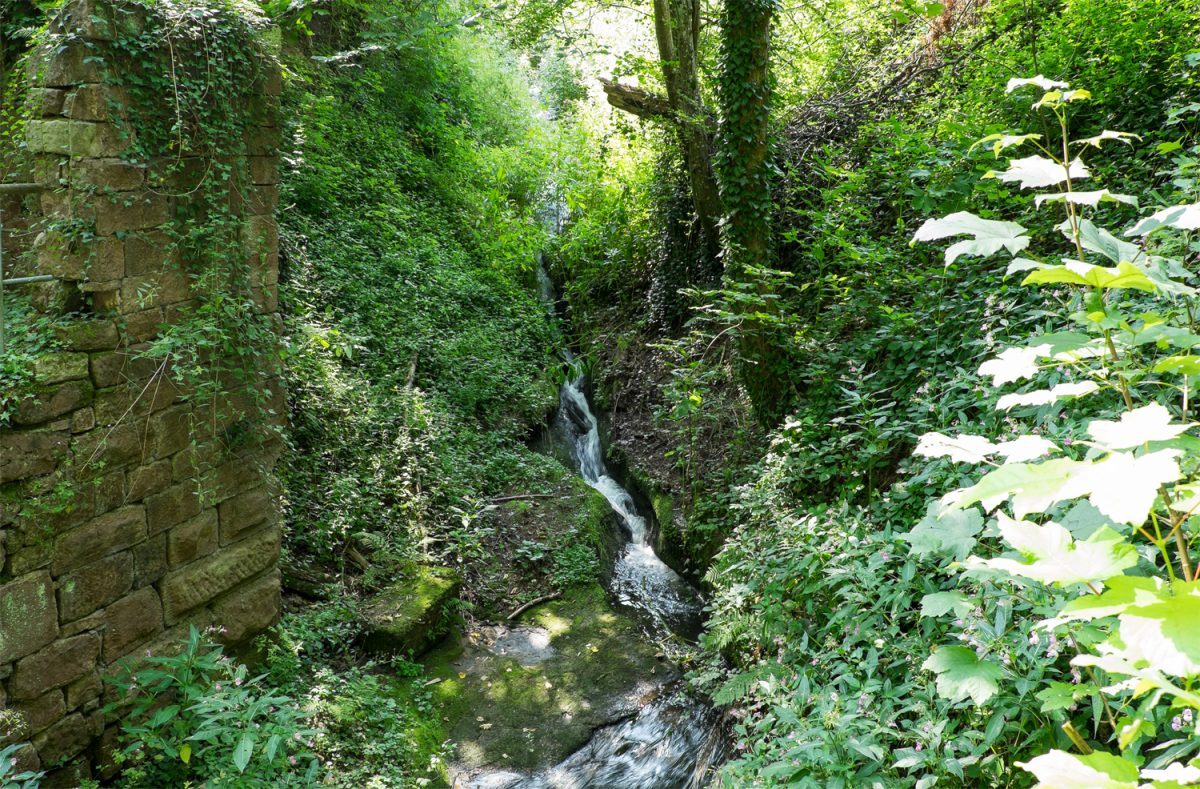 Laufbachwasserfall in Loffenau