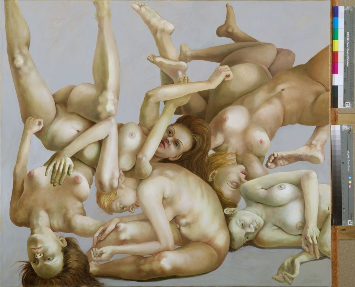 Malange 2007 Öl auf Lwd. 100 x 115 cm
